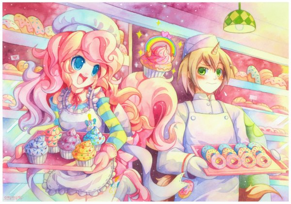 ♥ Pinkie Pie & Donut Joe ♥