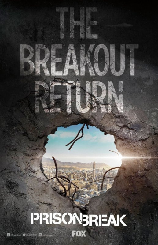 Prison Break Season 5 retour au printemps 2017 !!!
