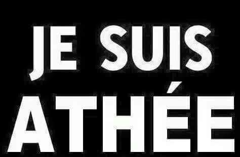 Je suis Athée