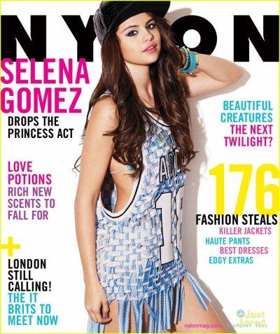 selena gomez magazine