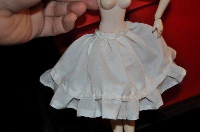 premiere etape de la finition de ma premiere robe