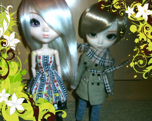 (pullip hello kitty et isul duke) Luna et éthan