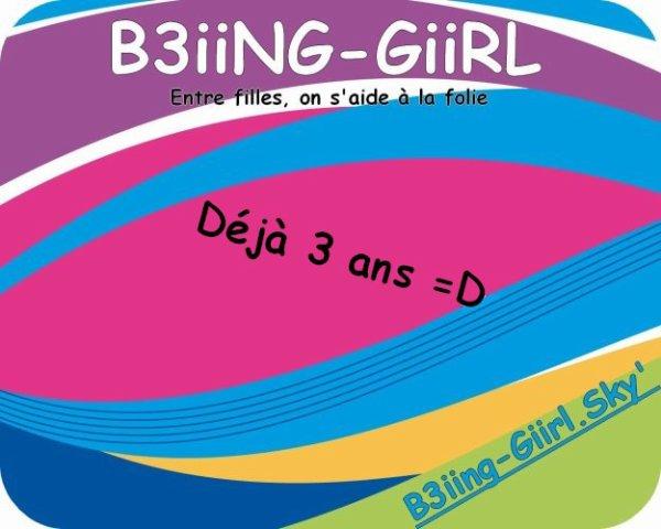 Bienvenue Sur B3iiNG-GiiRL