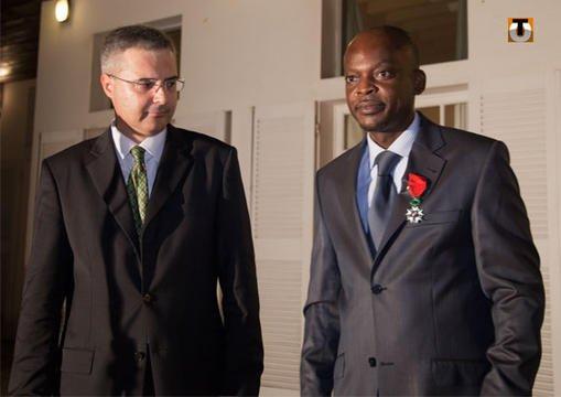 A l'ambassade de France, Robert Dussey a fait un rêve