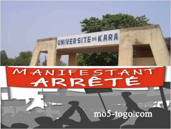 Kara : échauffourées dans la ville entre étudiants et forces de l'ordre