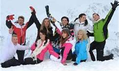 les ch'tis font du ski