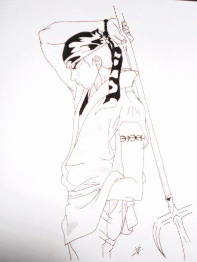 Tigre Rouge dans Samurai deeper Kyo