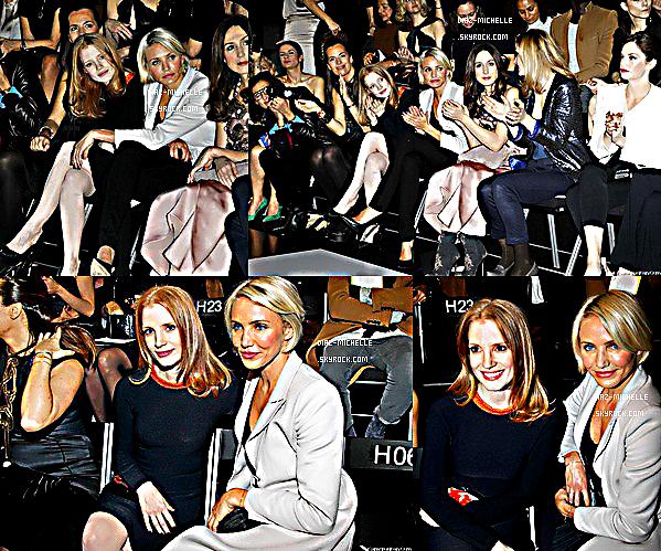 - 24/01/12 : Cameron était à Paris pour la Fashion Week Haute Couture au Grand Palais.