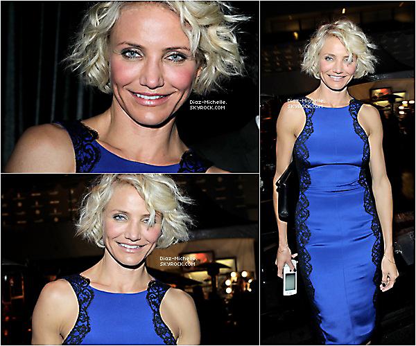 - 23/01/12 : Cameron pour la Fashion Week Haute Couture à Paris.