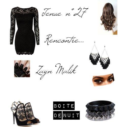 Tenue n°27 Rencontre avec Zayn Malik (dans une boite de nuit)