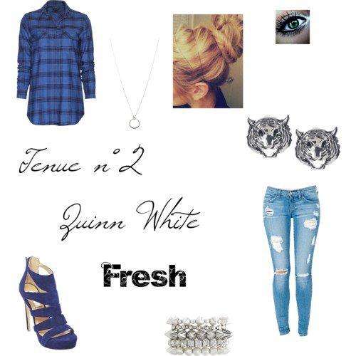 Tenue n°2 Quinn White Fresh