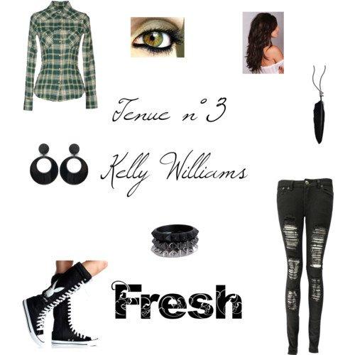 Tenue n°3 Kelly Williams Fresh