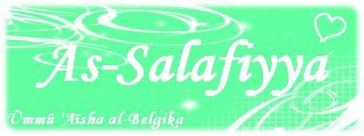 .●✿●. Le véritable salafi est celui qui suit les salafs avec bienfaisance .●✿●.