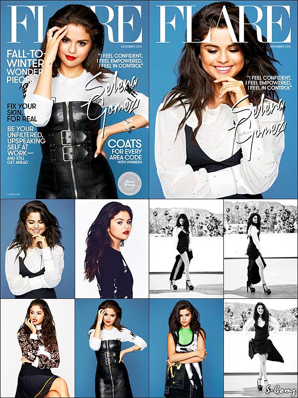 Découvrez le photoshoot de Selly pour le Magazine Flare issue de Novembre 2015.