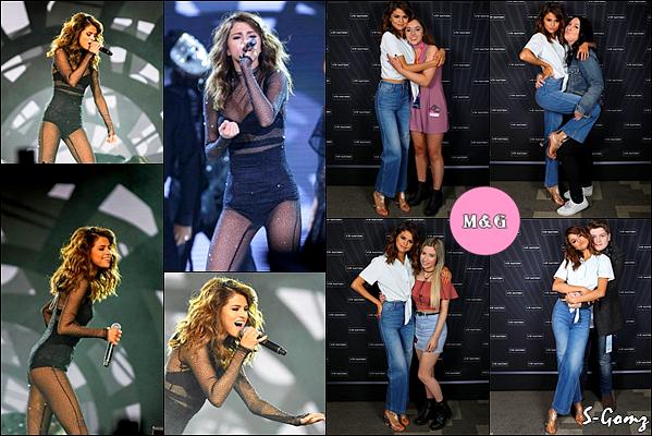 07.08.16 - Selena donnait un concert du Revival Tour à Melbourne (Australie).