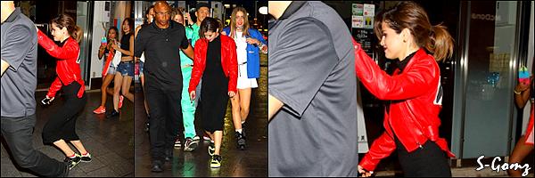 03.08.16 & 02.08.16 - Selena donnait deux concerts du Revival Tour à Tokyo (Japon).