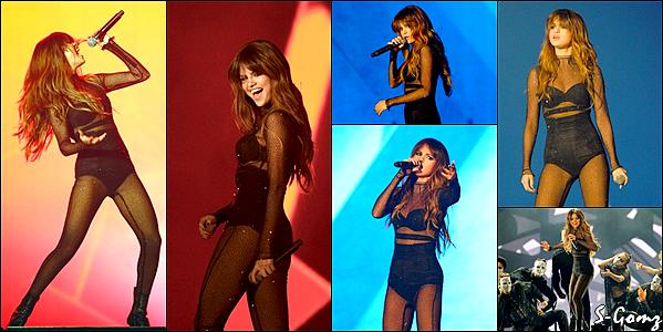 11.07.16 - Selena donnait un concert du Revival Tour lors d'un festival au Québec (Canada).