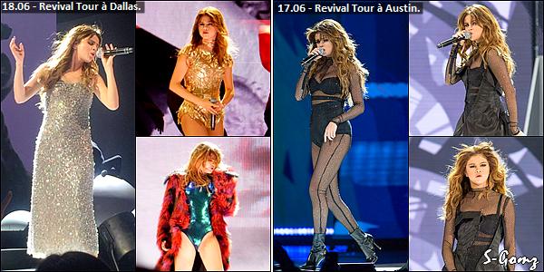 26.06.16 au 14.06.16 - Selena à donnée 10 concerts du Revival Tour.
