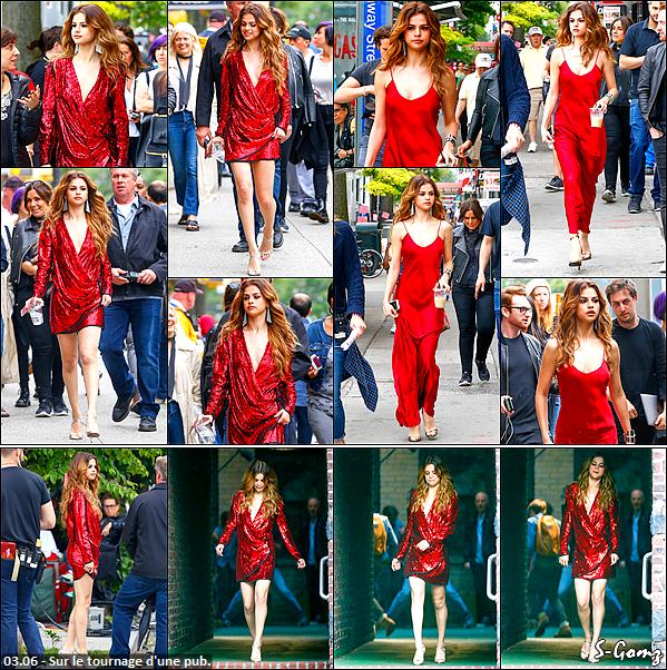 03.06.16 - Selena a été photographié alors qu'elle se promenait dans les rues de New York.