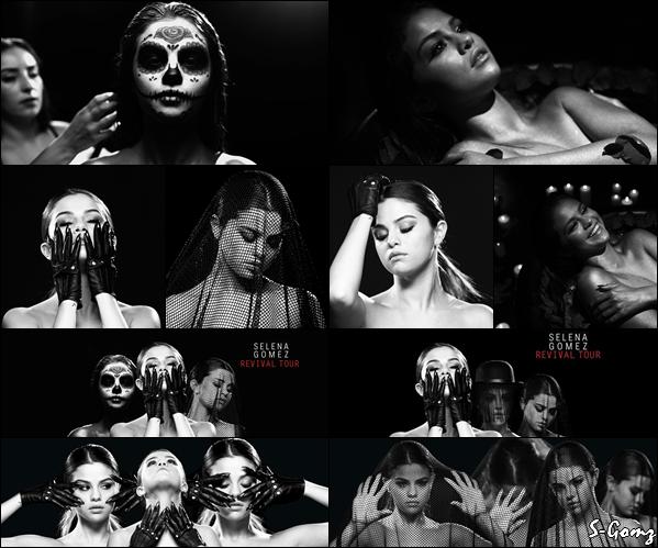 Découvrez le photoshoot de Selena pour la promotion du Revival Tour.