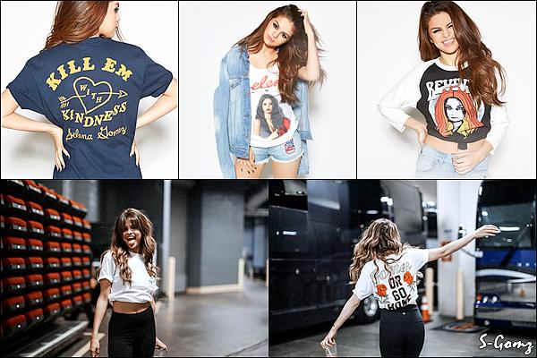 Découvrez le photoshoot de Selena pour la marchandise du Revival Tour.