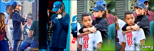 16.03.16 - Selena a été aperçu profitant de son temps libre à Disneyland.