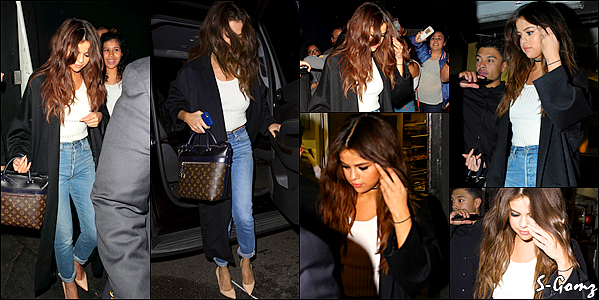 03.04.16 - Selena a été photographiée arrivant au The Nice Guy à West Hollywood.