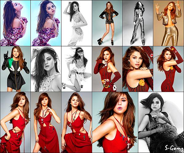 Découvrez Selena Gomez en couverture du magazine Marie Claire pour le mois de Juin 2016.