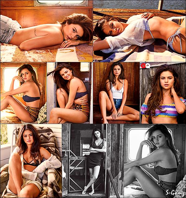 """Découvrez un nouveau photoshoot de Selena pour """"GQ Magazine""""."""