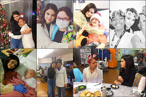 25.12.16 - Selena fête Noël avec sa famille au Texas.
