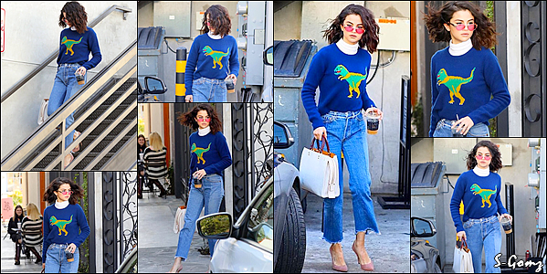 19.01.17 - Selena a été photographiée quittait le salon de coiffure Nine Zero One dans le West Hollywood.