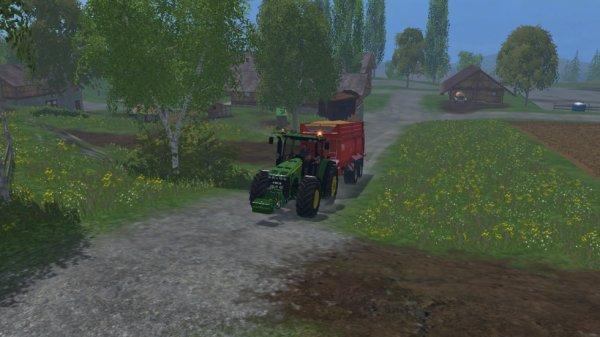 en route pour aller vendre le grains