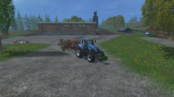 en route pour un autre champs