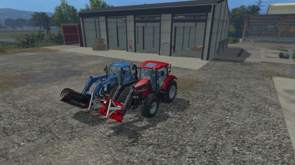 voici mais deux tracteur a fourche dont a nouvelle achat le case