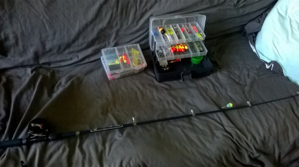 équipement de pêche ;)