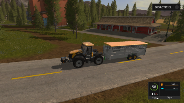 transport cochon fs17