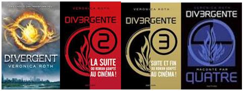 Divergente - quadrilogie