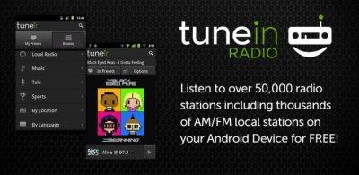 TUNE IN: écouter les radios du monde entier
