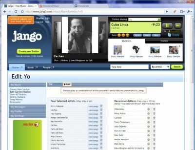 Jango – Radio personnalisée