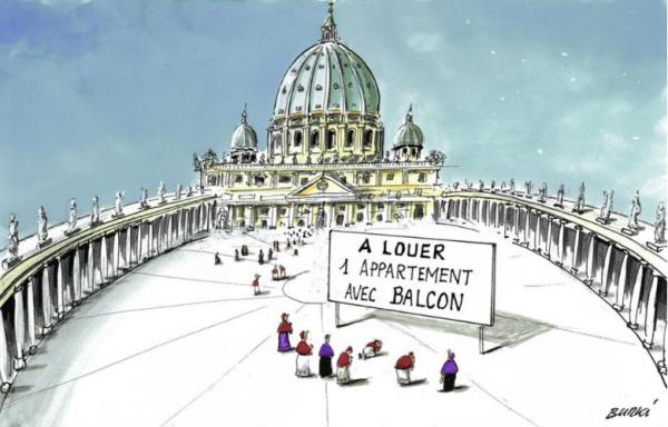 Une place à prendre au Vatican
