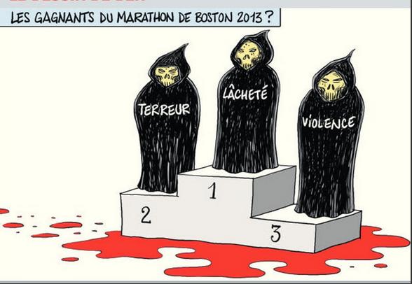 Cauchemar à l'arrivée du marathon