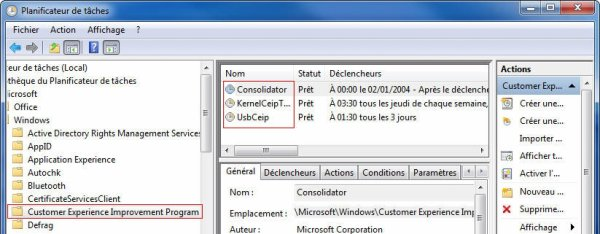 Désactiver les mouchards de Windows 8