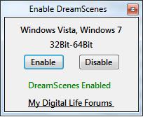 DreamScene : De la vidéo en fond d'écran