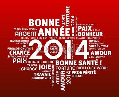 Meilleurs Souhaits pour Le Nouvel An!