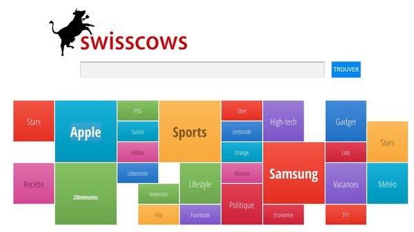 Swisscows, un moteur de recherche 100% suisse qui ne collecte aucune donnée