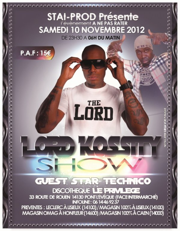 LORD KOSSITY et TECHNICO