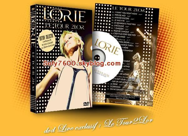 """A VENDRE   DVD """"Le Tour2Lor"""" exclusif"""