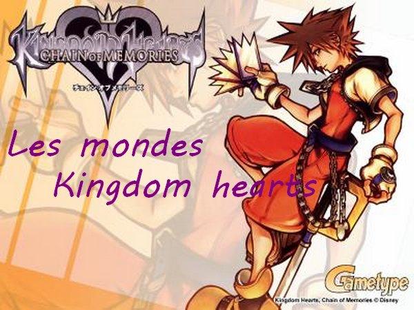 Les mondes Kingdom hearts