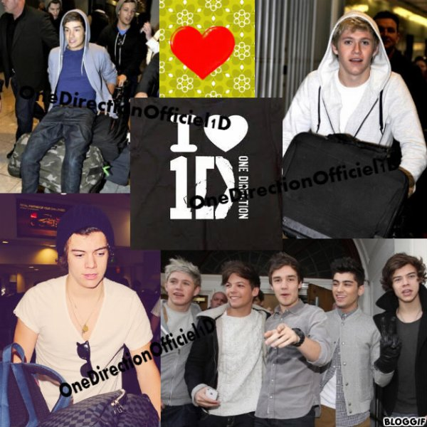 One Direction : Retour en Angleterre..