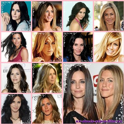 Duel: Jennifer Aniston et Courteney Cox